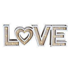 Led Dekoračná Lampa Love