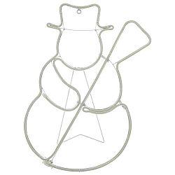 Led Dekoračná Lampa Snowman
