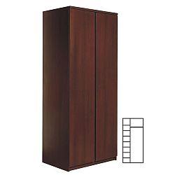 TEMPO KONDELA 2-dverová skriňa, sosna lareto, DTD laminovaná, PELLO TYP 20