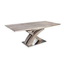 TEMPO KONDELA Jedálenský stôl, dub sonoma, BONET TYP 2