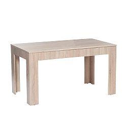 TEMPO KONDELA Jedálenský stôl, rozkladací, dub sonoma, ADMIRAL