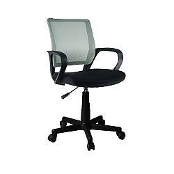 TEMPO KONDELA Kancelárska stolička, sivá, ADRA