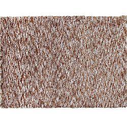 TEMPO KONDELA Koberec, svetlohnedá melír, 80x150, TOBY