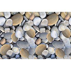 TEMPO KONDELA Koberec, viacfarebný, vzor kamene, 80x200, BESS