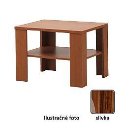 TEMPO KONDELA Konferenčný stolík, slivka, INTERSYS 21