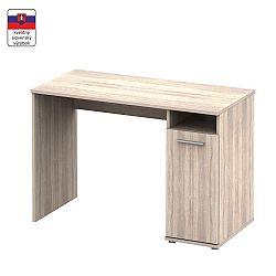 TEMPO KONDELA PC stôl, dub sonoma,  NOKO-SINGA 21