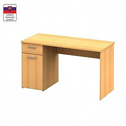 TEMPO KONDELA Písací stôl, buk, EGON