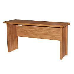 TEMPO KONDELA Písací stôl, čerešňa americká, OSCAR T01