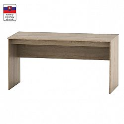TEMPO KONDELA Písací stôl, dub sonoma, TEMPO ASISTENT NEW 020 PI
