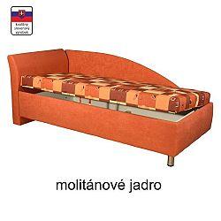 TEMPO KONDELA Váľanda s úložným priestorom, ľavá, molitanová, 90x200, PERLA
