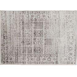 TEMPO KONDELA Vintage koberec, sivý, 40x60, ELROND