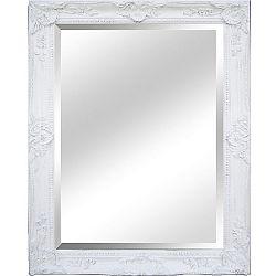 TEMPO KONDELA Zrkadlo, biely rám, MALKIA TYP 9