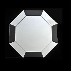 TEMPO KONDELA Zrkadlo, čierna/biela, ELISON TYP 14