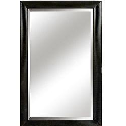 TEMPO KONDELA Zrkadlo, čierny rám, MALKIA TYP 1