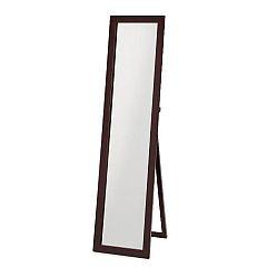 TEMPO KONDELA Zrkadlo, stojanové, cappucino, AIDA NEW 20685-S-CAP