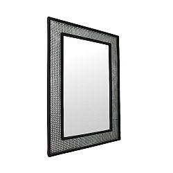 TEMPO KONDELA Zrkadlo, strieborná/čierna, ELISON TYP 9